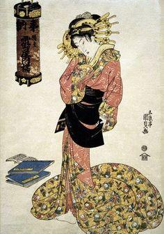89b4efc1341 the courtesan tachibana of tsuru-ya   dedicated lanterns series   utagawa  kunisada   1786