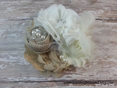 Hey, I found this really awesome Etsy listing at https://www.etsy.com/listing/191256741/shabby-beige-cream-white-pearl-tulle