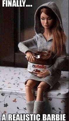 Nutella Barbie