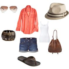 vacation, created by lovely547 on Polyvore