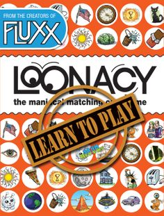 Loonacy by Looney Labs is a game definitely suited to young, quick minds! See how it's played! - SahmReviews.com