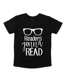 Look what I found on #zulily! Cents of Style Black 'Readers Gonna Read' Tee - Infant, Toddler & Kids by Cents of Style #zulilyfinds