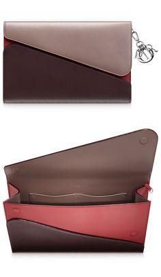 Diorissimo pouch amythyst/pigeon grey/cerise