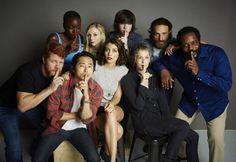 The Walking Dead cast