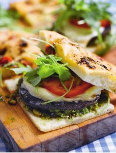 Meat Free Monday: Portobello Mushroom Burgers with Mozzarella