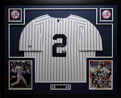 Derek Jeter Autographed Signed and Framed White Yankees Jersey Auto Steiner COA (Free Shipping!!) SportsFrames.com http://www.amazon.com/dp/B00FPXT87S/ref=cm_sw_r_pi_dp_Triyvb1MXHM3J