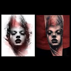 Amazing artist Thomas Carli Jarlier@thomascarlijarlier abstract girl forearm tattoo!#thomascarlijarlier #davidgarcia #finelineblackandgrey #blackandgreytattoo #sullen #sullenclothing #portrait #portraittattoo #girl #girlartwork #photorealism #realism #la #laink #cali #calilife #california #igtattoo #igtattoos #igartwork #forearmtattoo #armtattoo #abeyalvarez #davidgarcia #fernieandrade #ink#inkslingers #france #abstract #europe  #artwork