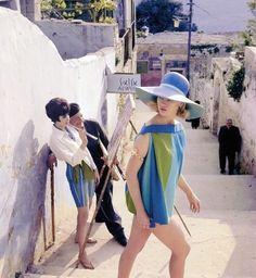 Celia Hammond in Israel for Vogue, 1962. The Swinging Sixties