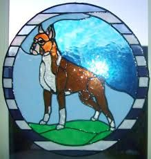 stained glass patterns dogs - Google Search