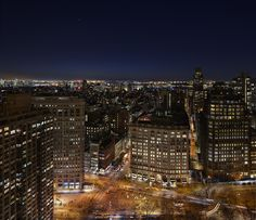 The New York EDITION: overlooking The Flatiron Building and Madison Square Park.