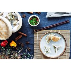 Wonton Duck Dumplings via @feedfeed on https://thefeedfeed.com/katrinbjork/wonton-duck-dumplings