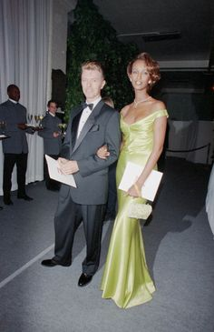 David Bowie and Iman News Photo 110423108