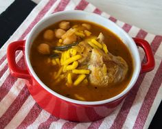migas y gachas: Gurullos con conejo #recetas #gastronomia