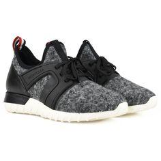 Moncler Emilien Wool Sneaker