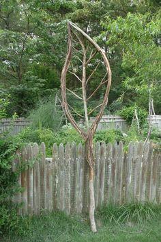Rustic twig leaf.