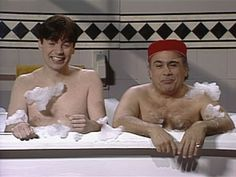 mike myers first appeared on SNL | Saturday Night Live - 18x10 Danny DeVito/Bon Jovi