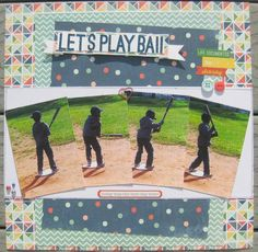 Let's Play Ball - Scrapbook.com