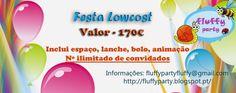 FluffyParty: Festas Lowcost -170€ convidados ilimitados