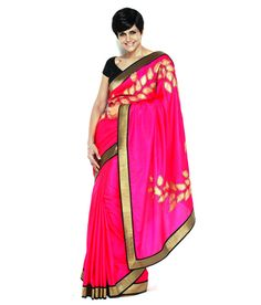 Mandira Bedi Pink Silk Saree, http://www.snapdeal.com/product/mandira-bedi-pink-silk-saree/626366559489