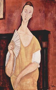 Les Illusions perdues (Amedeo Modigliani (Italian, 1884-1920), La Femme à...)