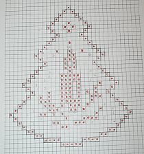 Designing Your Own Cross Stitch Embroidery Patterns - Embr Crochet Snowflake Pattern, Crochet Snowflakes, Doily Patterns, Crochet Christmas Ornaments, Christmas Crochet Patterns, Holiday Crochet, Cross Stitch Christmas Cards, Christmas Cross, Xmas