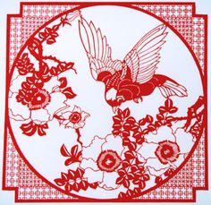 I love these delicate works of art that you can buy in China. The thin line paper-cut, a distinctive genre of Chinese paper cut, originated from Yueqing, Zhejiang Province. According to local historical records, thin line paper-cut appeared and developed in the Southern Dynasty. Different from the plain and bold northern style, Yueqing thin line paper-cut features a delicate and exquisite style and a rich south China charm.