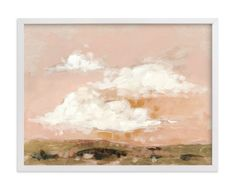 """Afterglow"" - Art Print by Lorent and Leif in beautiful frame options and a variety of sizes."