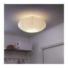SOLLEFTEÅ Plafondlamp, wit wit -