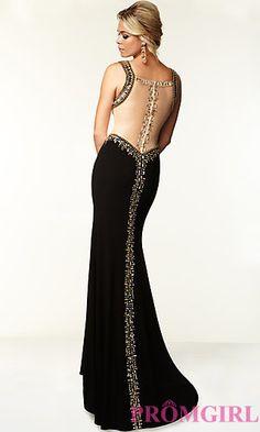 Sleeveless Floor Length Dress by Mori Lee at PromGirl.com