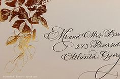Calligraphy on CeCi New  York (Xandra Zamora) Tags: calligraphy copperplate flourished