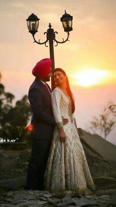 Punjabi Couple, Couple Photos, Couples, Cute, Wedding, Couple Shots, Valentines Day Weddings, Kawaii, Couple Photography