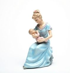 Cosmos 80055 Fine Porcelain Mom with Baby Girl Musical Figurine, 7-1/4-Inch Cosmos :)