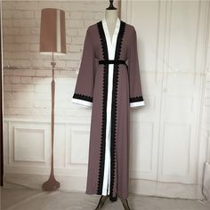 71c70ab73bc60 Big size 2017 Adult emboridery lace cotton liene Robes Musulmane Turkish Abaya  Muslim Cardigan Robes Arab Worship Service Wj154-in Islamic Clothing from  ...