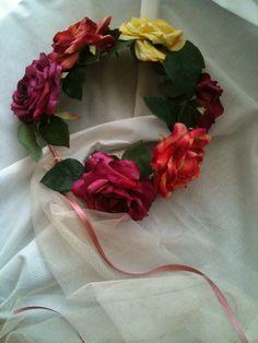 198 best silk flower crafts images on pinterest manualidades flowers headband mightylinksfo