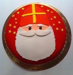Mijn zelfgemaakte Sinterklaas taart :-)