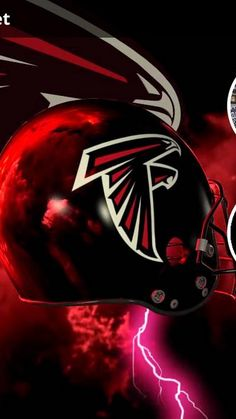 Falcons Crazy Logo Shield Players Wallpaper (With images