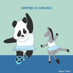 "Donkey ""Tino"" & Co. Happiness is dancing! by Federico Monzani"