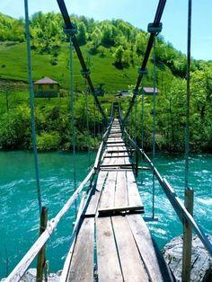 Turquoise River, The Moraca Valley, Montenegro