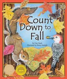 Describes how the leaves from trees such as the birch, maple, and dogwood change during the fall while counting down from ten to one. Color: Birch.