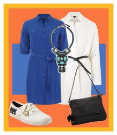 """""""Something Blue"""" by alyonalar on Polyvore featuring мода, Topshop, Dorothy Perkins, Keds, Nocturne и Kipling"""