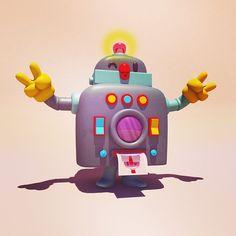 3d character selfiebot