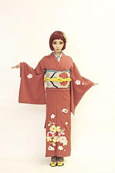 Modern kimono style