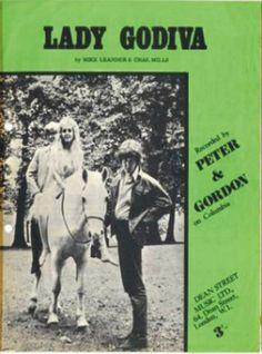 1966-Peter and Gordon sheet music-Lady Godiva