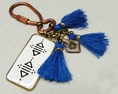 Interesting berber inspired  Keychain