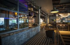Hunt a Lobster Restaurant by Seventh Studio, Moscow   Russia restaurant