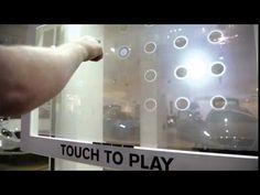 Volvo Pop Up Shop Interactive Retail Window Game - Pro-Display Interactive Screen - YouTube