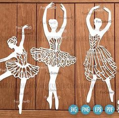 Ballerinas Svg Bundle Set 3. Perfect addition for weekend craft!