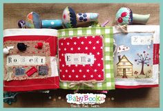 Three activity books for three active baby friends. Baby Quiet Book, Quiet Books, Activity Books, Book Activities, Baby Friends, Coin Purse, Feelings, Learning, Studying