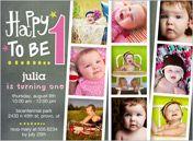 Baby Girl First Birthday Invitations & Girl 1st Birthday Invites | Shutterfly