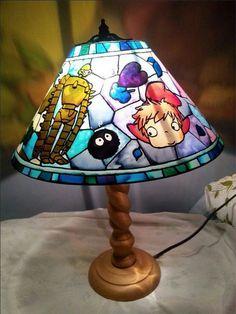 Studio ghibli lamp